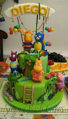 backyardigans birthday party | Backyardigans Party