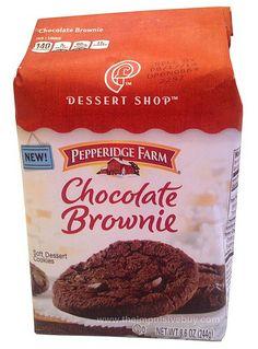 REVIEW: Pepperidge Farm Dessert Shop Chocolate Brownie Cookies