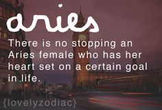 I'm not big on the whole zodiac business, but this is true!