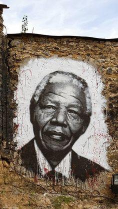 Nelson Mandela - mural
