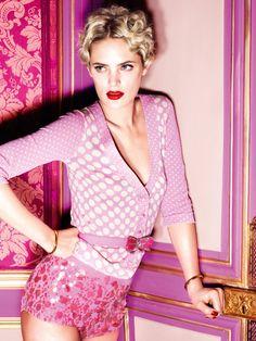 Leah de Wavrin for Blugirl Spring 2011 Campaign