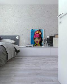 Visualization of bedroom One Bedroom Apartment, Bratislava, Interior Design, Nest Design, Home Interior Design, Interior Designing, Home Decor, Interiors, Design Interiors