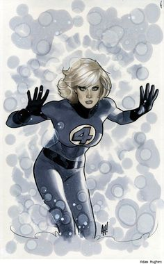 Invisible Woman by Adam Hughes.