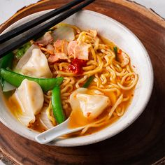 Marion's Kitchen is packed with simple and delicious Asian recipes and food ideas. Frozen Dumplings, Dumplings For Soup, Kitchen Recipes, Soup Recipes, Cooking Recipes, Creamy Tomato Pasta, Cabbage And Bacon, Lamb Dishes, Asian Soup