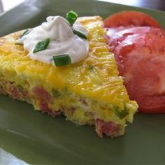 """Baked Denver Omelet 