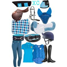 """Blue XC"" by forest-fashion on Polyvore"