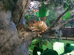 Cheshire Cat at the Please Touch Museum. Philadelphia, PA.