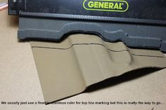 Kydex Projects | DIY Holster Tips & Tricks: Layout: Drawing Strait Lines…