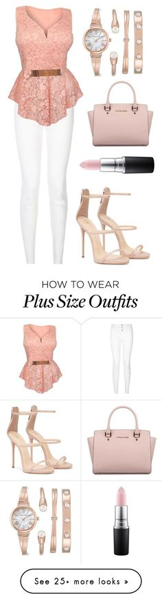 Untitled #448 by bekanadasi on Polyvore featuring New Look, Anne Klein, Michael Kors and MAC Cosmetics
