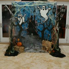 Halloween Photo Backdrop