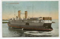 Type: divided back. Ice Breakers, Prince Edward Island, Navy Ships, Ship Art, Great Lakes, Vintage Postcards, West Coast, Sailing Ships, Coastal