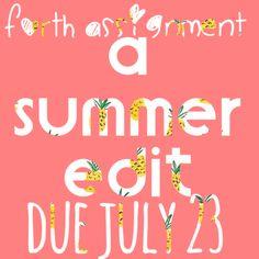 due july 23 at 10:00