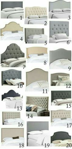 Love These Headboards   Gorgeous And On Budget!