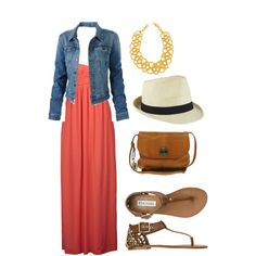 Maxi dress outfit that I plan on wearing to dinner with my friends soon