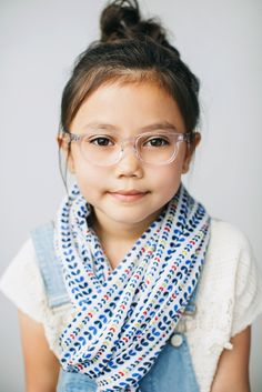 Girls Eyeglass Frames // Ruth Frame // Limited Edition // Clear // www.jonaspauleyewear.com