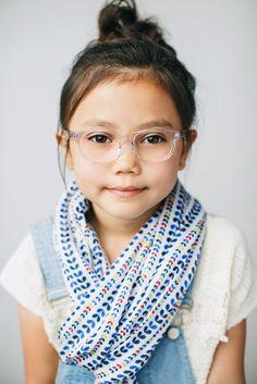Girls Eyeglass Frames // Ruth Frame // Limited Edition // Clear // www.jonaspauleyewear.com