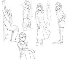 插画 wonder woman t shirt jcpenney - Woman T-shirts Body Reference Drawing, Drawing Reference Poses, Drawing Skills, Female Pose Reference, Anatomy Reference, Drawing Base, Manga Drawing, Drawing Sketches, Anatomy Drawing