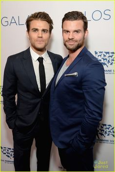Paul Wesley and  Daniel Gillies at Los Angeles Benefit Gala