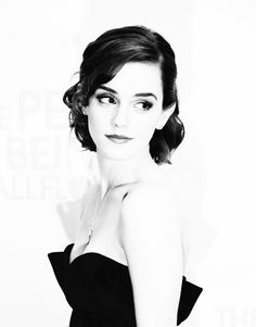 I think Emma Watson is just gorgeous.