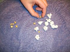 Fun popcorn science fair project