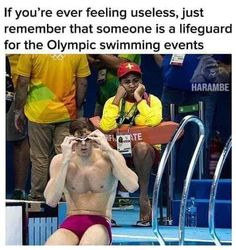 Hey I'll take that job in a hot fucking second- free front row seats to the goddamn Olympics. It's not completely useless.