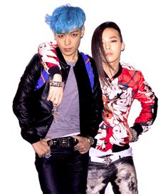 T.O.P (탑) and G-Dragon (지드래곤)