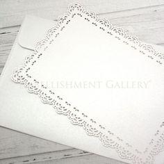 CHRISTENING LASER CUT CARDS CLA117 WHITE