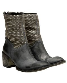 MEXICANA   'Camelia' studded leather cowboy boots