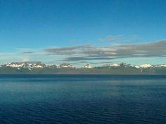 Coming into Alaska on Westerdam.