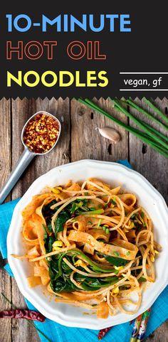 Hot Oil Noodles