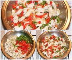 Piept de pui cu legume la tigaie Salsa, Curry, Mexican, Ethnic Recipes, Food, Curries, Essen, Salsa Music, Meals