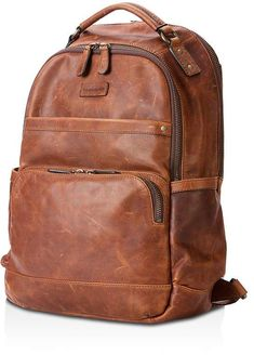 Frye Logan Leather Backpack – Cognac – Men's style, accessories, mens fashion trends 2020 Leather Backpack For Men, Leather Men, Leather Backpacks, Leather Fashion, Men's Backpack, Fashion Backpack, The Frye Company, Back Bag, Cowgirl Boots