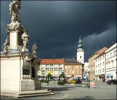 Uherské Hradiště - náměstí | FotoAparát.cz