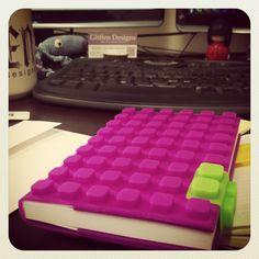Lego-like notebook