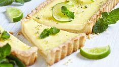 Osviežujúca limetková tarta s mätou | Recepty.sk