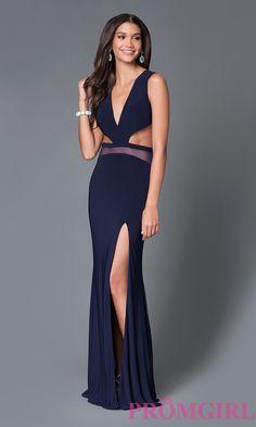 Low Cut, Open Back Long Prom Dress by Temptation $399.99 TEMPTATION