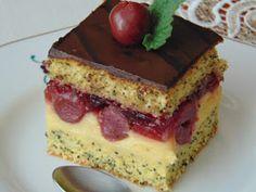 Poppy Cake, Cheesecake, Cukor, Food, Creative, Cheesecakes, Essen, Meals, Yemek