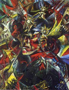Otto Dix - Self-Portrait as Mars