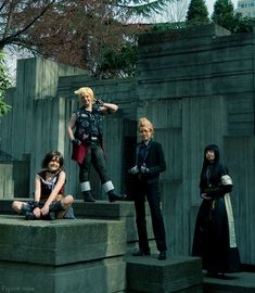 The last of the cosplay shoots I did together with Balance during Sakura-con 2018 is here. These characters are from an action role-playing game called Final Fantasy XV. I … Final Fantasy XV Read Figure Photography, Final Fantasy Xv, Anime Figures, Finals, Action, Cosplay, Couple Photos, Link, Check