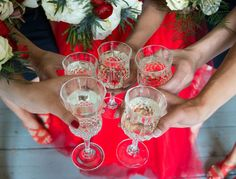 Red dress wedding Red Wedding Dresses, Wine Glass, Alcoholic Drinks, Rose, Tableware, Red Wedding Gowns, Alcoholic Beverages, Pink, Dinnerware