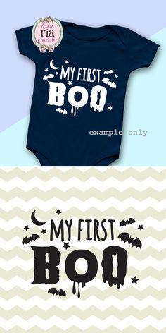 My first BOO newborn baby first Halloween by LoveRiaCharlotte