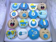 baby shower cupcakes - Bing Images