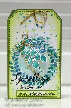 StampingMathilda: Christmas Tag/Card