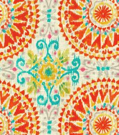 Dena Upholstery Fabric-Give It A Whirl/Sundance