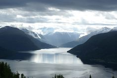 Nordfjord Norway. one of the best views. changes every hour