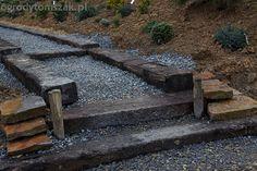 schody z podkładów kolejowych - Szukaj w Google