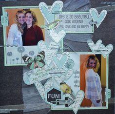 Life is so beautiful * Scraps of Elegance Jan Kit* A dream within A dream - Scrapbook.com