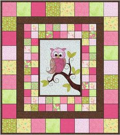 Iquilt Longarm Quilting Service Quilt Gallery Owl Baby