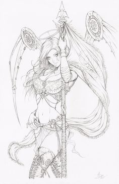 Here are my pencils for a limited edition Print of Joe Benitez' Lady Mechanika, drawn for Anastasia's Collectibles. I love Lady Mechanika & I had soooo much fun being able to try my hand at dra...