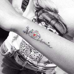 Ainda sobre o dia da fotografia ❤️ Tattoo feita pela querida @dani.bianco_tattoo ❤️